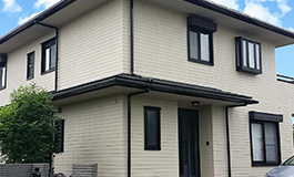 株式会社丸巧の外壁塗装工事の施工事例01