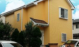 株式会社丸巧の外壁塗装工事の施工事例02