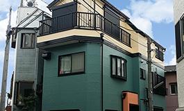 株式会社丸巧の外壁塗装工事の施工事例03