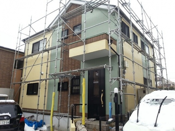 外壁塗装工事 (東京都足立区KT様邸)