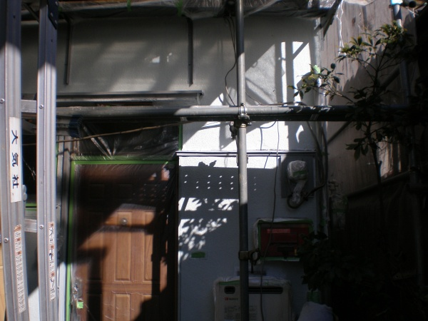 外壁塗装工事 (東京都足立区MS様邸)