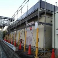 屋根塗装工事 (千葉県某IC事務所)