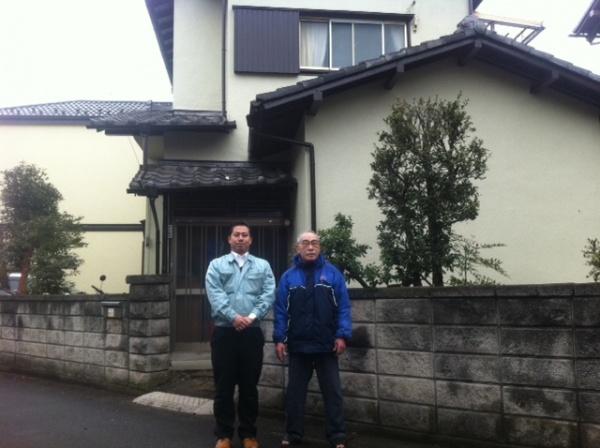外壁塗装工事 (埼玉県草加市F様邸)