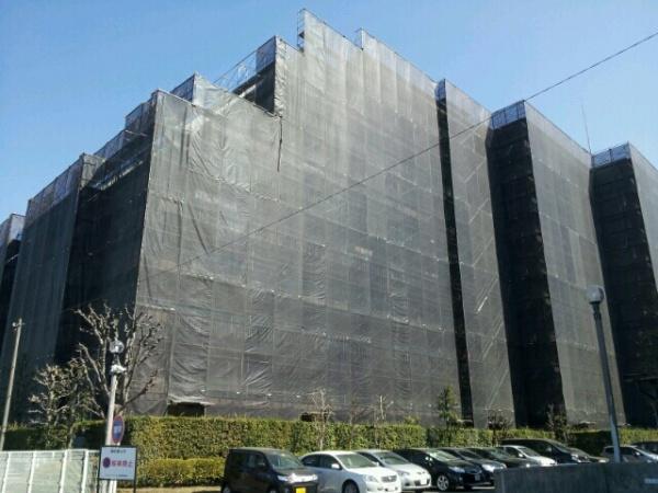 外壁塗装工事 (さいたま市Gマンション)