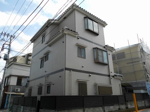外壁塗装工事 (東京都足立区SK様邸)