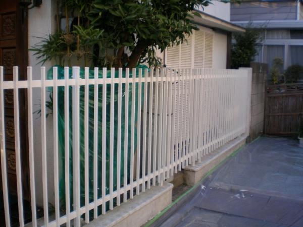 フェンス塗り替え工事 (東京都足立区M様邸)