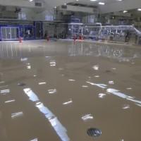 店舗防水工事 (静岡県某飲料工場)