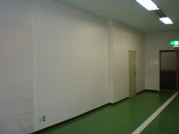内部塗装工事 (茨城県某銀行様)