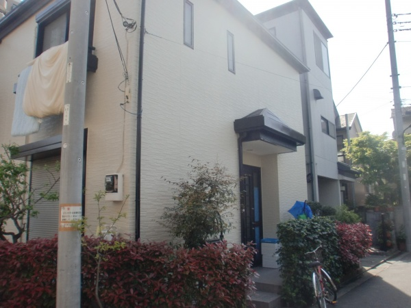 外壁塗装工事 (東京都足立区U様邸)