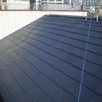 屋根塗装工事 (東京都品川区のIN様邸)