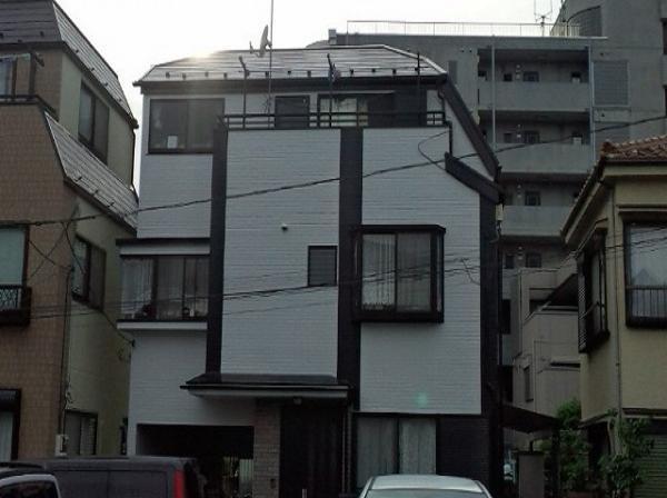 外壁塗装 (東京都足立区のSR様邸)