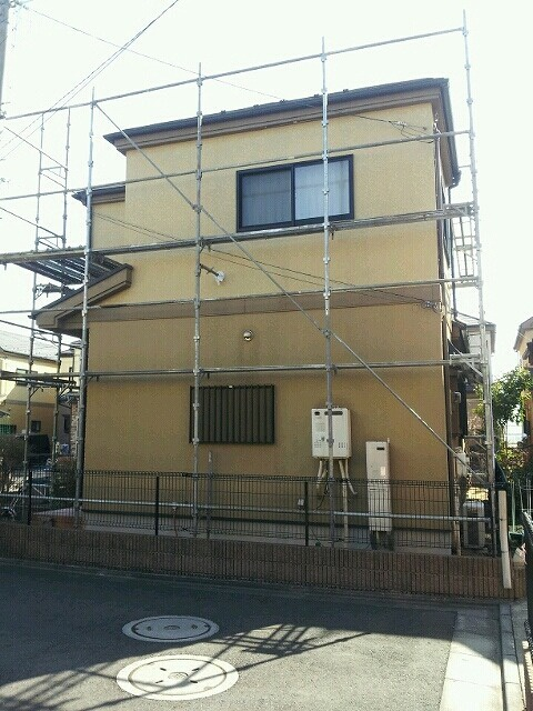 外壁塗装工事 (東京都足立区O様邸)