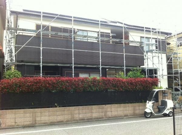 外壁塗装 (東京都足立区のY様邸)
