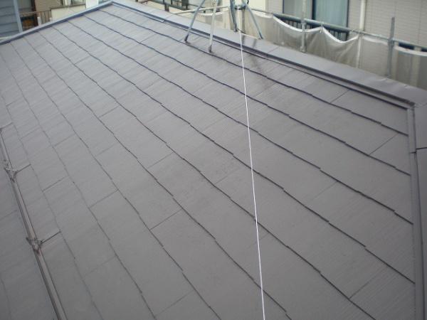 屋根塗装工事 (東京都豊島区K様邸)