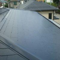 屋根塗装工事 (東京都調布市S様邸)