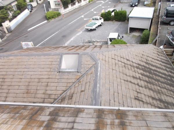 屋根塗装工事 (埼玉県入間市M様邸)