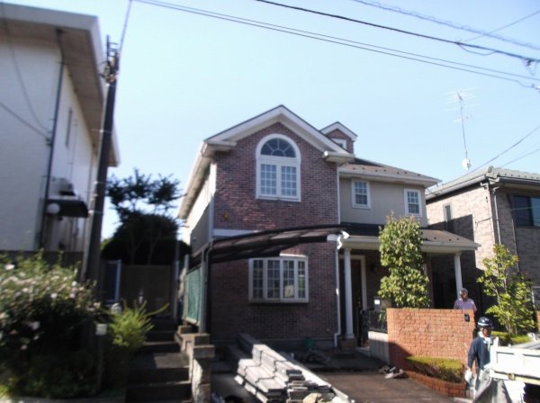 外壁塗装工事 (東京都世田谷区N様邸)