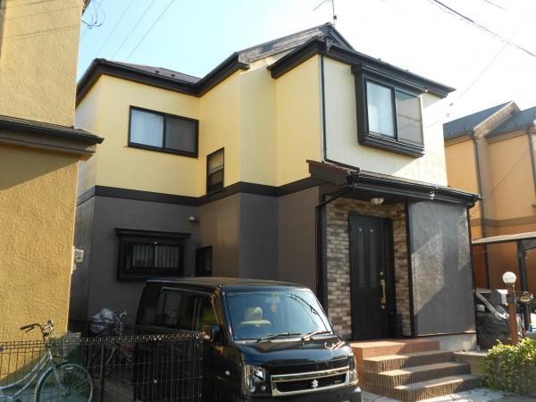 外壁塗装工事 (東京都足立区NI様邸)