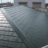 屋根塗装工事 (東京都足立区H様邸)