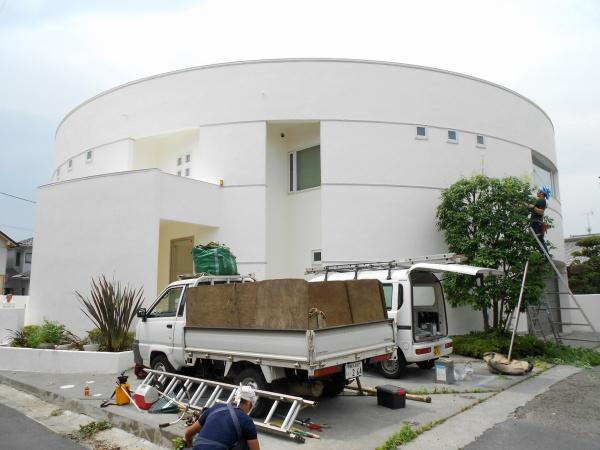 外壁塗装工事 (埼玉県蓮田市O様邸)