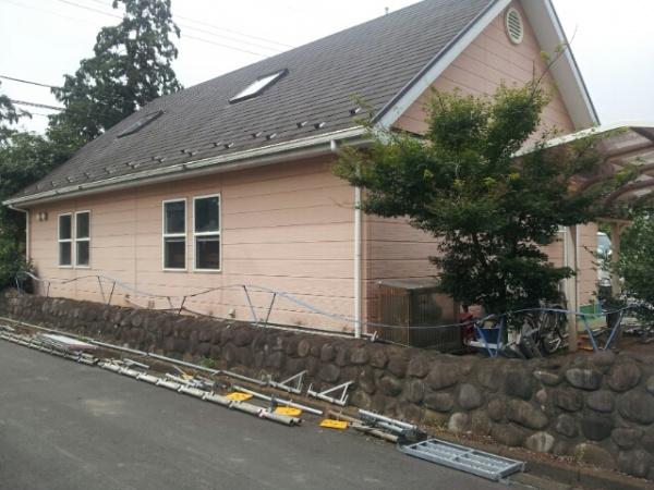 屋根塗装工事 (埼玉県狭山市KT様邸)