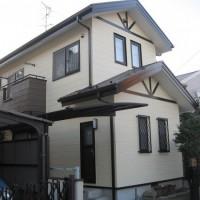 外壁塗装工事 (千葉県市川市S様邸)