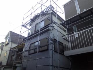 外壁塗装工事 (東京都江戸川区A様邸)