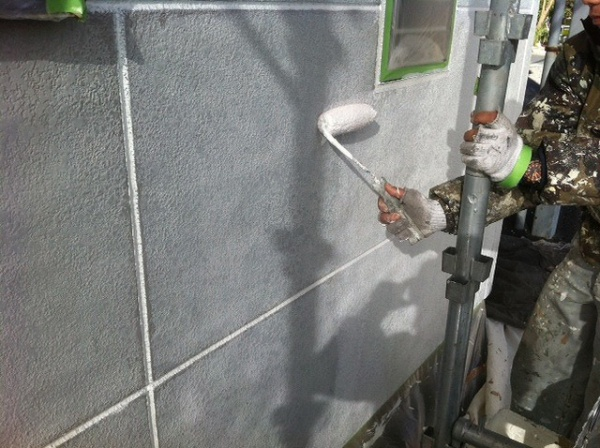 外壁塗装工事 (草加市N様アパート)