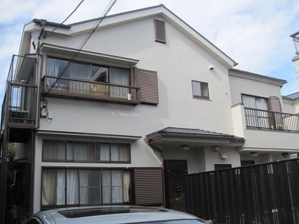 外壁塗装工事 (東京都新宿区W様邸)