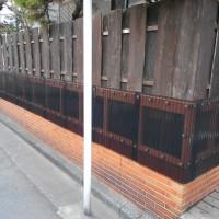 塀の外構工事 (東京都足立区のS様邸)