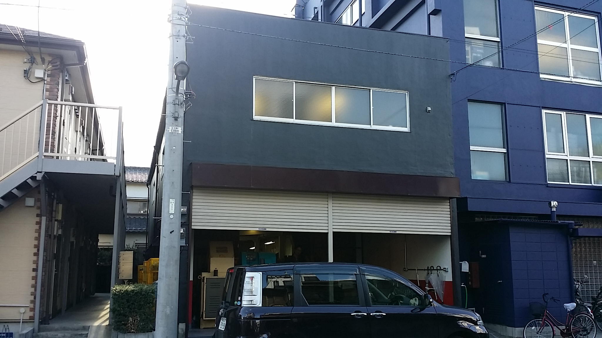 東京都足立区工場の外壁塗装工事の施工事例