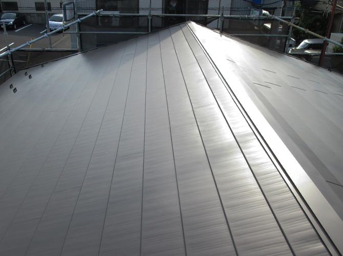 東京都足立区工場の屋根の葺き替え工事の施工事例