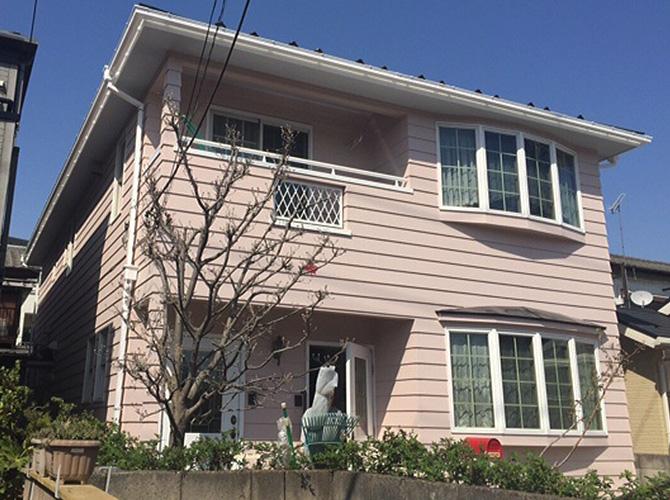 埼玉県草加市の外壁塗装・屋根塗装工事の施工事例