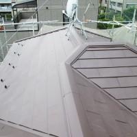 埼玉県戸田市の屋根のカバー工法の施工事例