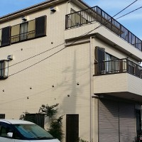 東京都江戸川区の外壁塗装・屋根塗装工事の施工事例