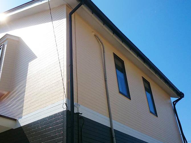 東京都あきる野市の外壁塗装・屋根塗装工事の施工事例