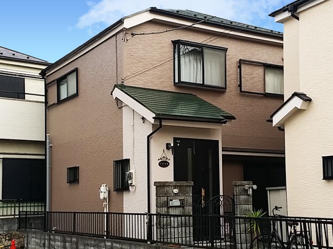 東京都足立区戸建て住宅の外壁塗装・屋根塗装工事の施工事例
