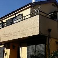 東京都足立区戸建て住宅の外壁塗装・屋根塗装・バルコニー防水工事の施工事例