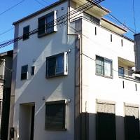 東京都葛飾区戸建て住宅の外壁塗装・屋根塗装・ベランダ防水工事の施工事例