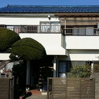 東京都足立区東伊興戸建て住宅の外壁塗装工事の施工事例