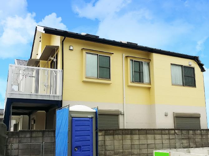 東京都江戸川区一般住宅の外壁塗装・屋根塗装工事の施工事例