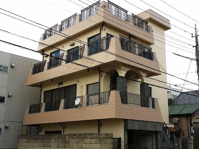 東京都江戸川区の外壁塗装・屋上防水工事の施工事例