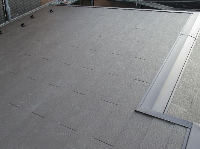 東京都豊島区一般住宅の屋根葺き替え工事の施工事例