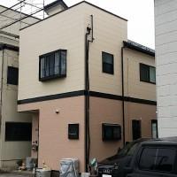 東京都葛飾区一般住宅の外壁塗装・屋根塗装工事の施工事例