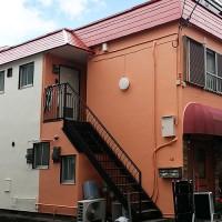 東京都杉並区アパートの外壁塗装・屋根塗装工事の施工事例