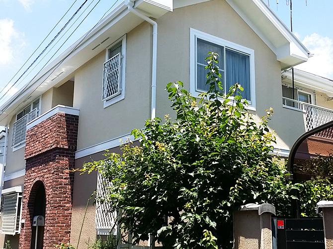 東京都新宿区戸建て住宅の外壁塗装・屋根塗装工事の施工事例