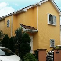 東京都日野市一般住宅の外壁塗装・屋根塗装工事の施工事例