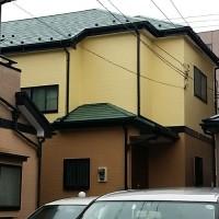 東京都足立区一般住宅の外壁塗装・屋根塗装工事の施工事例