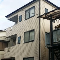 東京都足立区一般住宅の外壁塗装・屋根塗装・長尺工事の施工事例