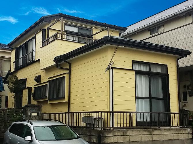 千葉県浦安市戸建て住宅の外壁塗装・屋根葺き替え工事の施工事例